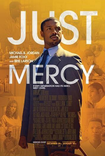 JUST MERCY screens in Boston January 2020.  Michael B. Jordon and Jamie Foxx