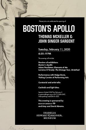 Boston's Apollo Isabella Stewart Gardner museum now till Mar 20